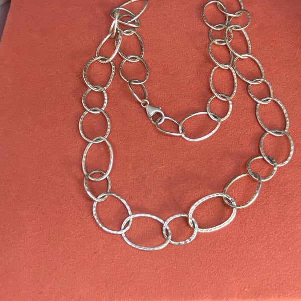 Silpada Forged Link Necklace 23""