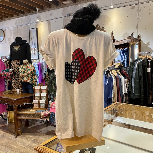 The Two Hearts Love Graphic T-Shirt