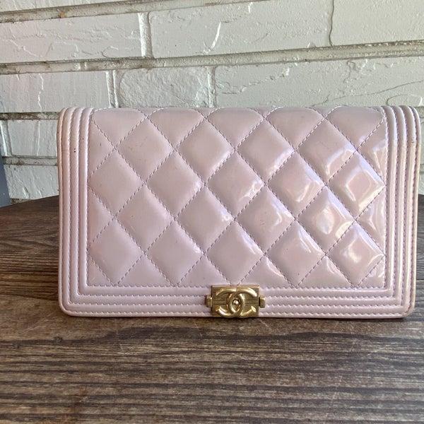 Chanel Patent Boy Wallet