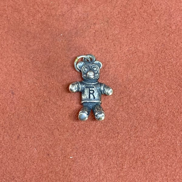 RARE James Avery Teddy Roosevelt Bear Charm