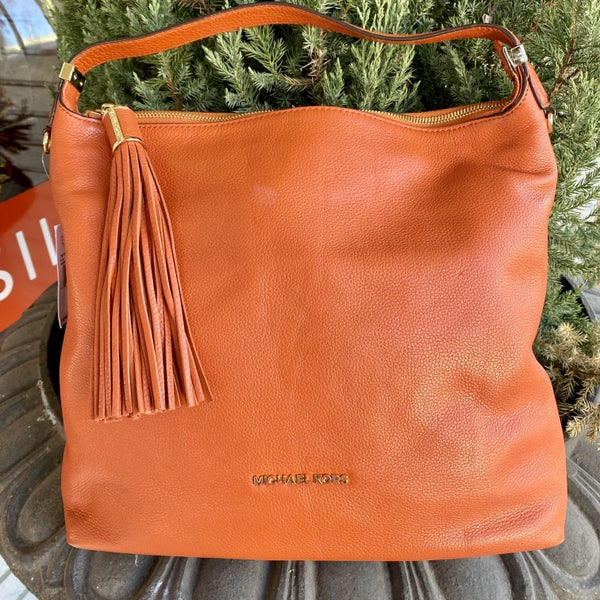 Michael Kors Orange Hobo Bag
