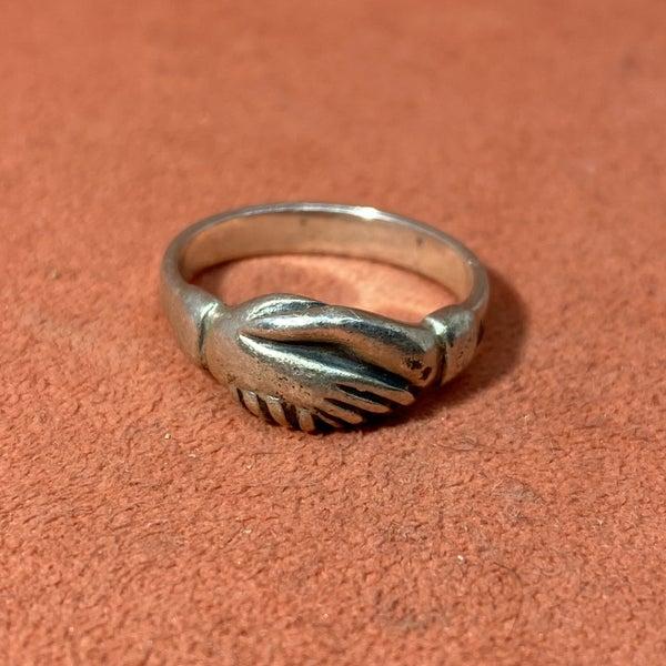 James Avery Retired Friendship Handshake Ring
