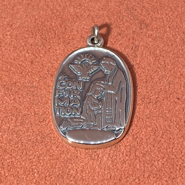 Retired James Avery Confirmation Pendant