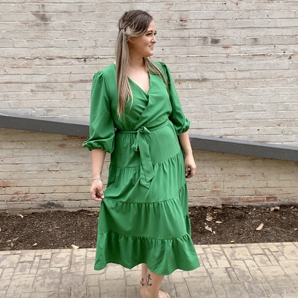 Ella Tiered Midi Dress