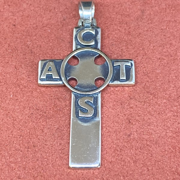 James Avery ACTS Cross Pendant