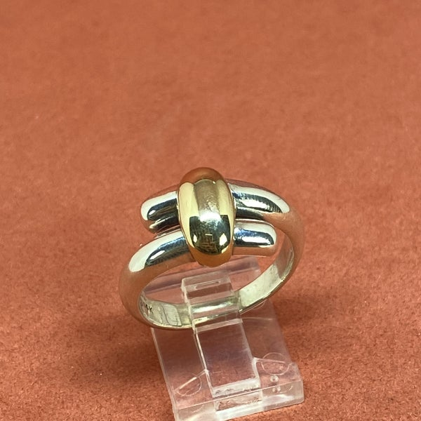 Retired James Avery Two-Tone Bypass Ring