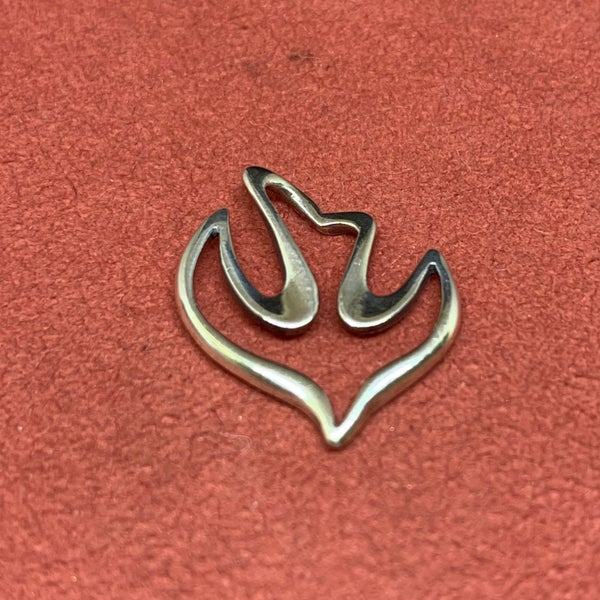 James Avery Floating Sterling Silver Dove Pendant
