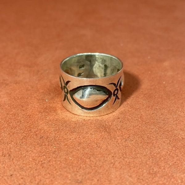 Squash Blossom Ring
