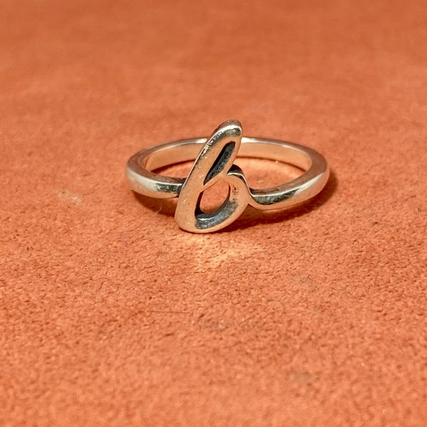 "James Avery Initial ""B"" Ring"