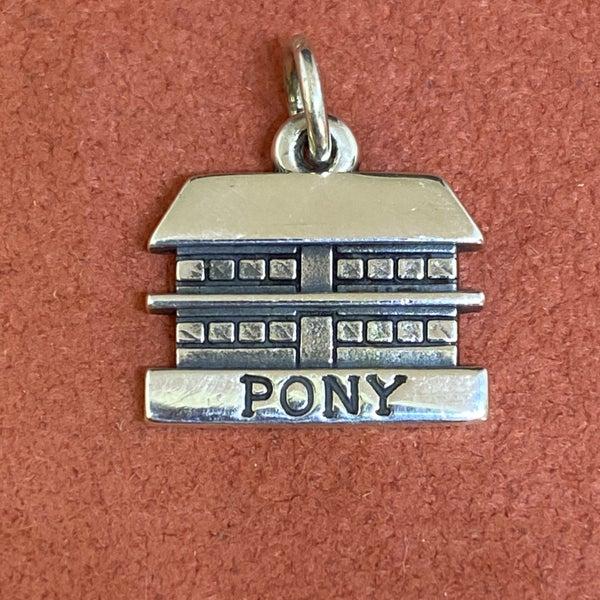 James Avery Heart O' The Hills Pony Cabin Charm