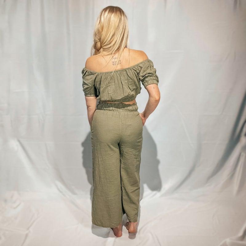 Shawnee Wide Leg Linen Pants