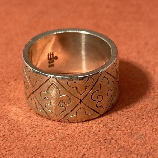 Retired James Avery Fleur De Lis Ring