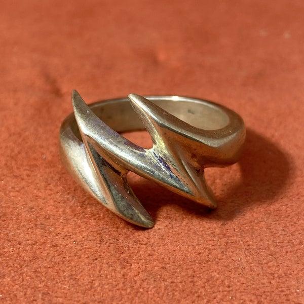 Sterling Zigzag Rings