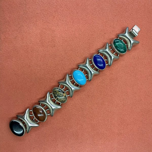 Taxco Multistone X Bracelet