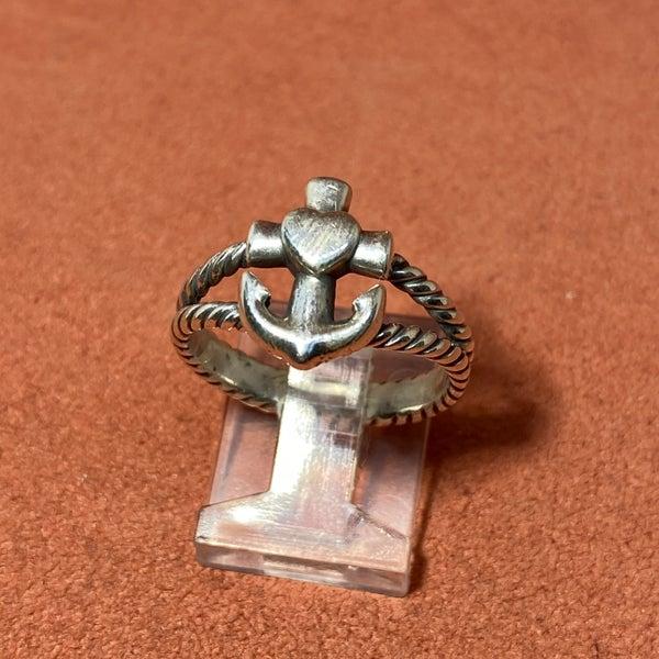 James Avery Faith, Hope, Love Anchor Ring