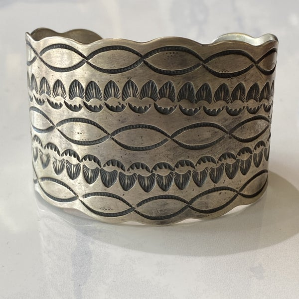Must Have! Huge Hand-Stamped Cuff Bracelet