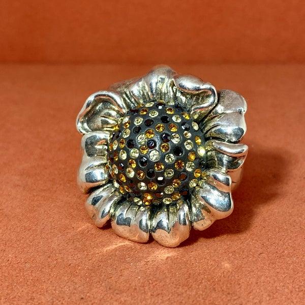 Adorable Sunflower Ring