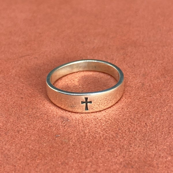 James Avery Small Crosslet Ring