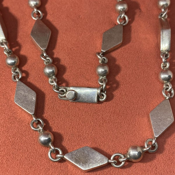 Taxco Sterling Silver Necklace