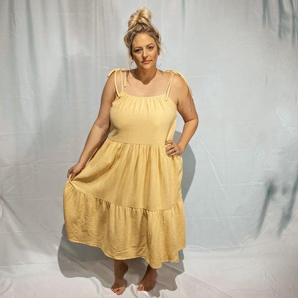 Dagny Flowy Tiered Dress