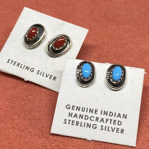 Shadowbox Stud Earrings