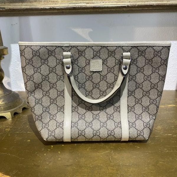 Authentic Gucci Mini Supreme Tote Bag