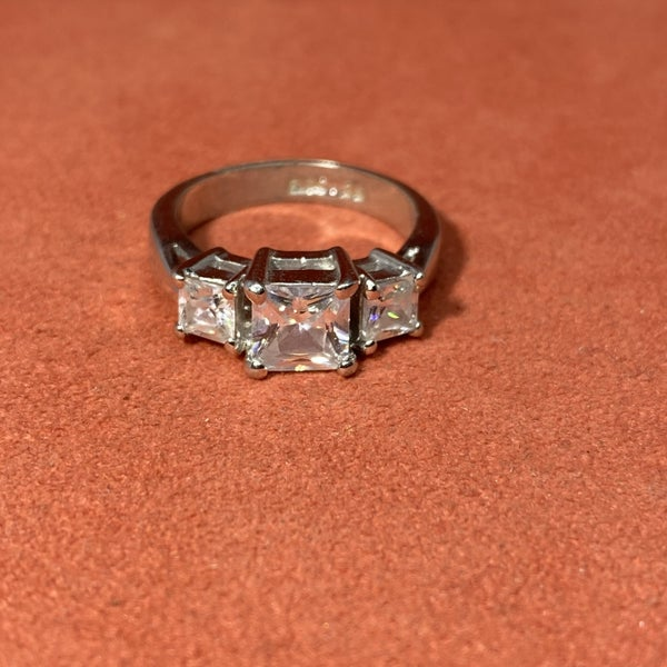 Sterling And CZ Ring