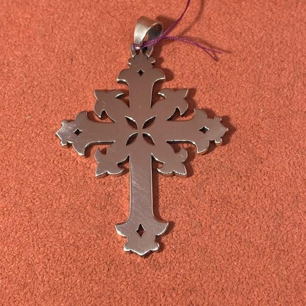 James Avery Retired Ornate Celtic Cross Pendant