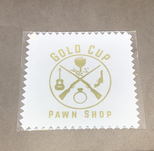 Gold Cup Pawn Shop Treated Cleaning Cloth