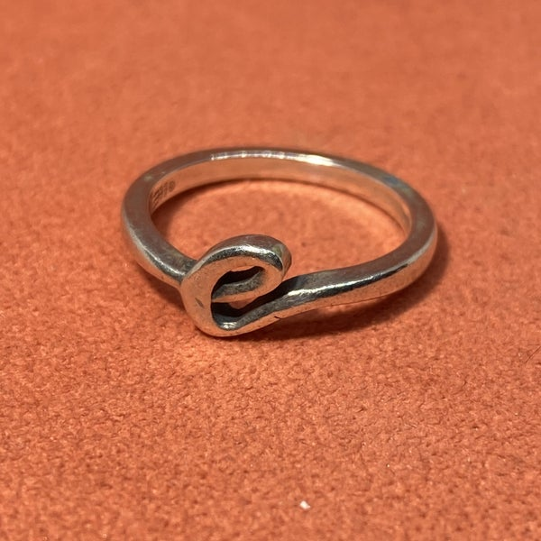"James Avery Initial ""E"" Ring"