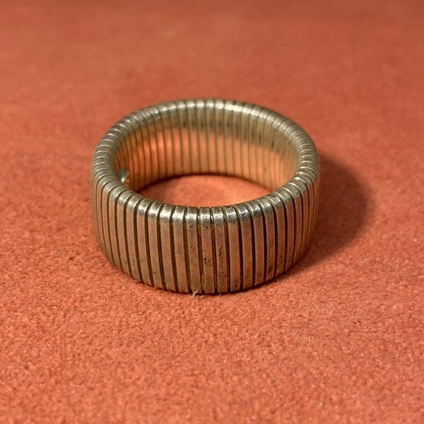 Stretchy Sterling Ring