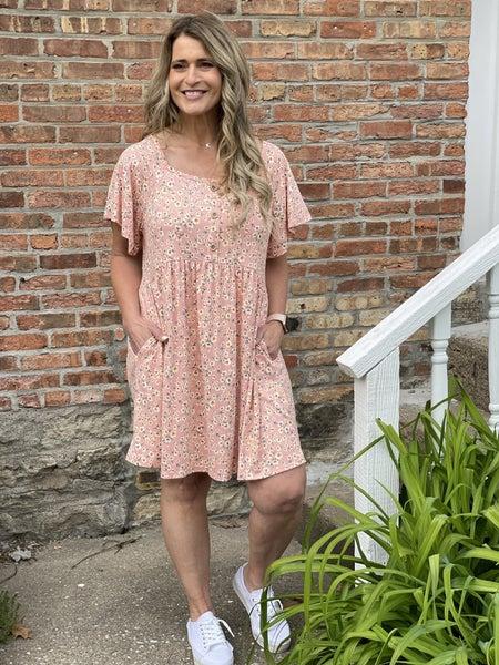 Mauve Meadows Dress
