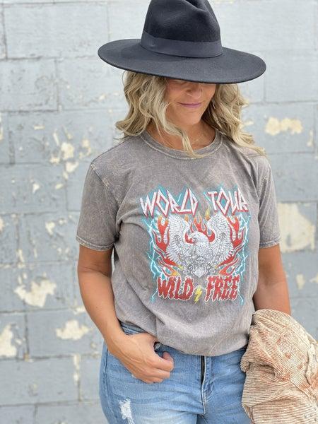 Grey Ash World Tour Wild Free Tee
