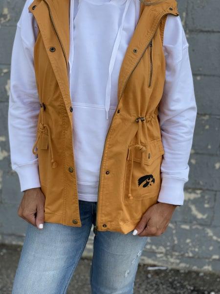 IOWA Hawkeye Cargo Vest