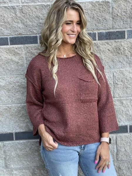 Skipping Rocks Sweater