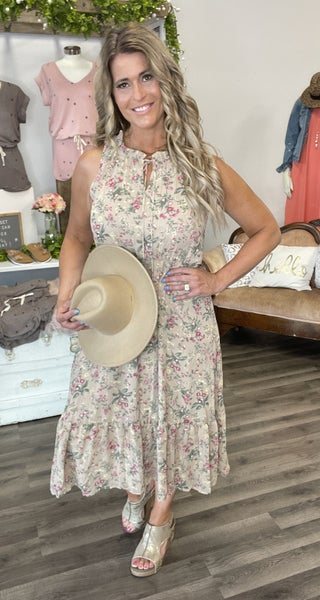 Desert Plains Floral Dress