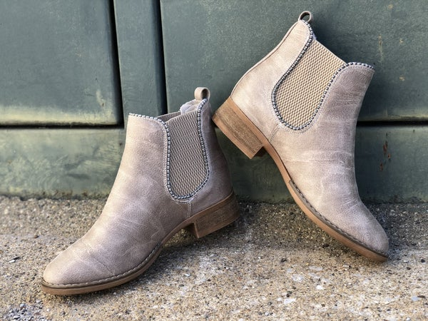 Chase Taupe Booties