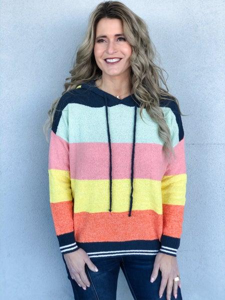 Spring It On Me Sweater Hoodie
