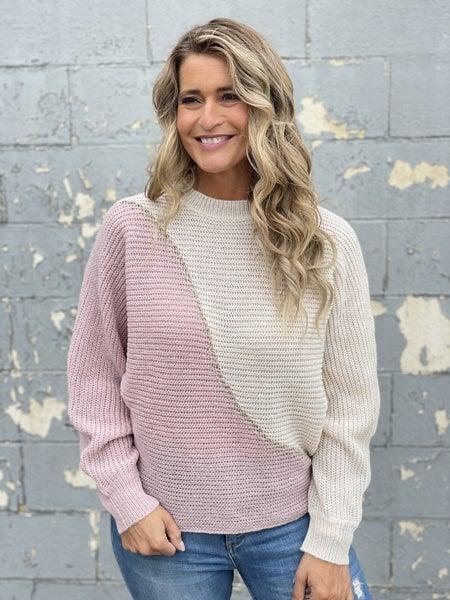 Mauve Wave Sweater