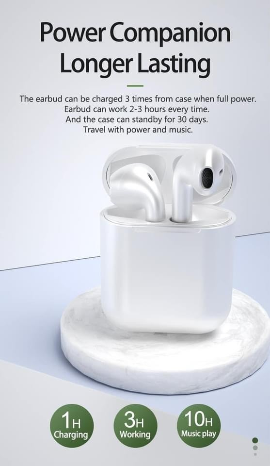 InPods 12 Earbuds *Final Sale*