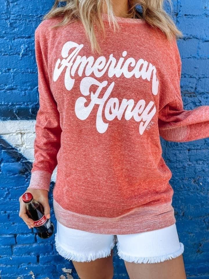 American Honey Crewneck Pullover