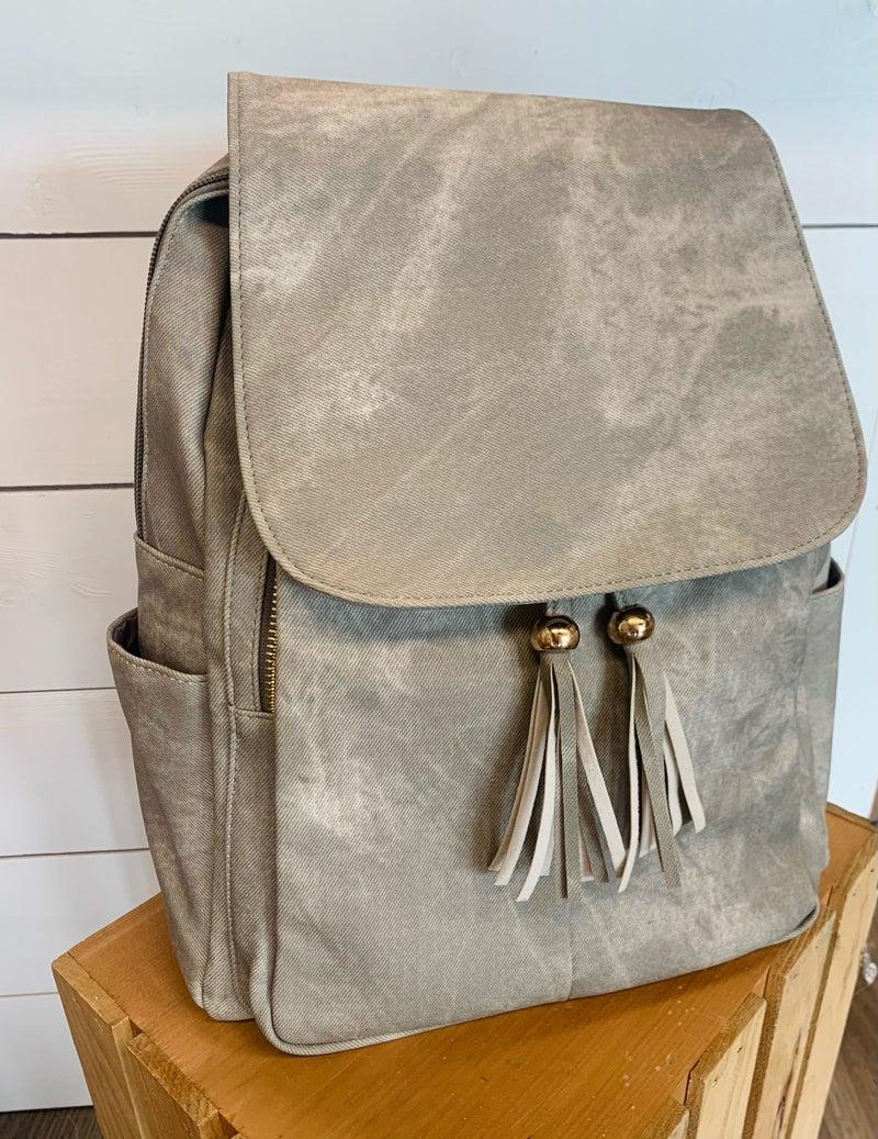 Front Tassel Backpack