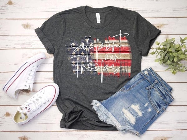Support Our Troops Tee *Final Sale*