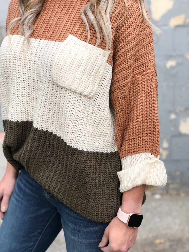 Toffee On Top Sweater