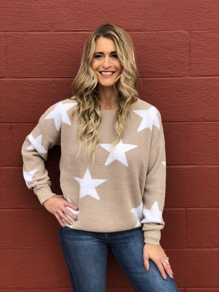 Falling For The Stars Sweater