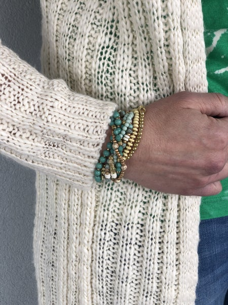 Striking Stack Stretch Bracelet Set