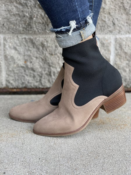 Nicky Two Tone Bootie
