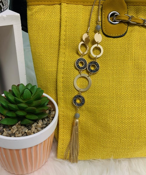 RL Get Connected Tassel Necklace