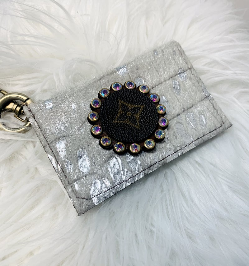 Upcycled Becca Credit Card Keychain