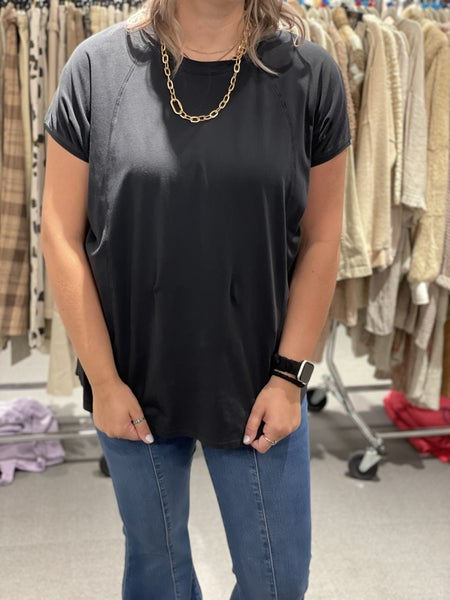 Perfectly Exposed Black Top
